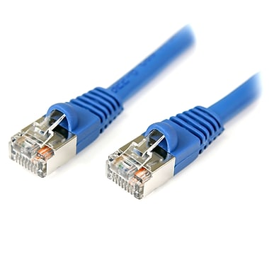 Startech.Com 75 Ft Cat5E Blue Snagless Shielded RJ45 F/Utp Cat 5E Patch Cable, 75Ft Patch Cord