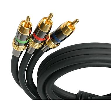 Startech.Com – Câble RCA vidéo composante haut de gamme, M/M, 6 pi
