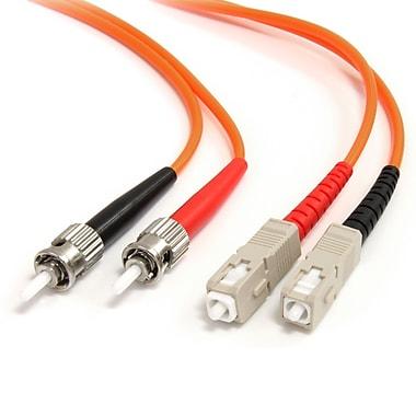 Startech.com – Câble de raccordement à fibre optique duplex 3M 62,5/125 multimode, St vers Sc