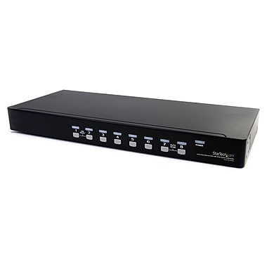 Startech.Com 8 Port Rackmount USB VGA Kvm Switch with Audio (Audio Cables Included)