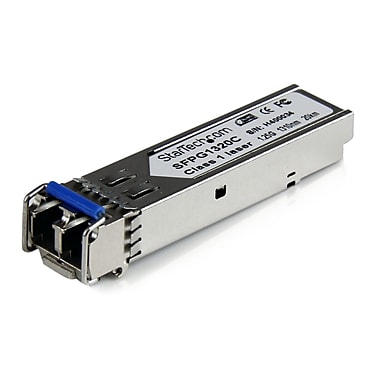 Startech.Com Cisco Compatible Gigabit Fiber Sfp Transceiver Module Sm Lc with Ddm, 20 Km (Mini-Gbic)