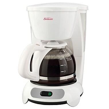 Sunbeam 5-Cup Switch Coffeemaker, White