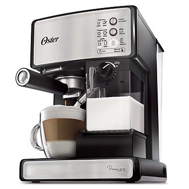Oster – Machine à espressos, cappuccinos et lattes Prima Latte, acier inoxydable