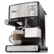 Oster Prima Latte Espresso, Cappuccino and Latte Maker, Stainless Steel