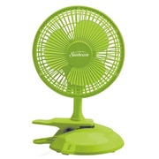 Sunbeam – Ventilateur convertible de table/à pince Cool Me, 6 po, vert ara