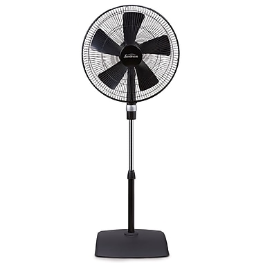 Sunbeam – Ventilateur sur pied Série Stylée de 16 po avec un contrôle d'accès facile