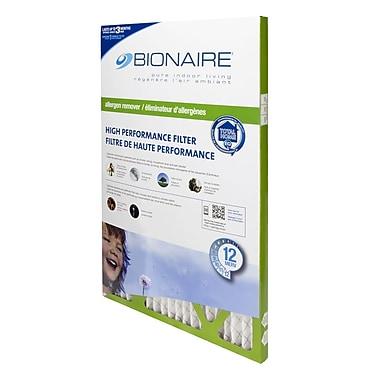 BionaireMD – Filtre à fournaise anti-allergènes Elite Merv 12, 16 x 25