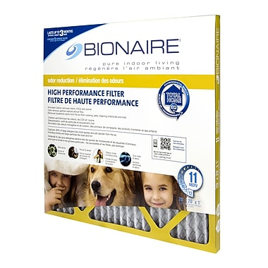 Bionaire Odour Reduction Merv 11 Furnace Filters, 20 x 20