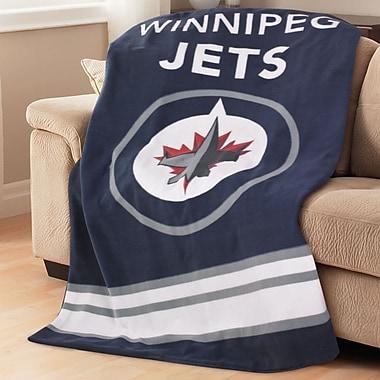 Sunbeam NHL Fleece Heated Throw, Winnipeg Jets