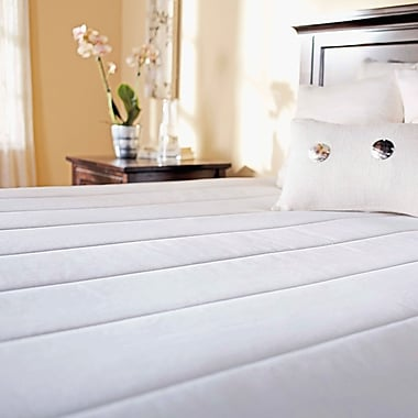 Sunbeam Quilted Heated Mattress Pad with 10 Heat Settings, Queen