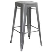 Buffalo Tools 30'' Bar Stool; Silver