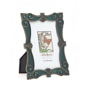 Philip Whitney Marposa Scroll Picture Frame; Antique/Bronze