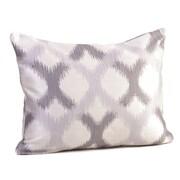 Rennie & Rose Design Group Barcelona Lumbar Pillow; Silver