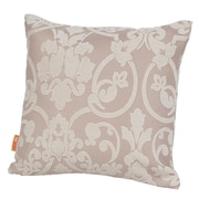 Rennie & Rose Design Group Monte Carlo Throw Pillow; 17'' H x 17'' W x 4'' D