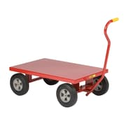 Little Giant USA 24'' x 36'' Steel Deck Wagon Truck with Flush Deck with 10'' Pneumatic Wheels