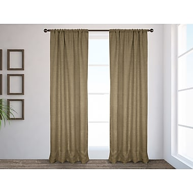 Burlap Curtain 68 X 84 With Pom Fringe To The By Madeinburlap