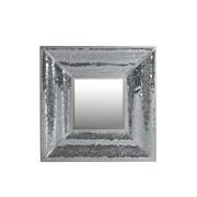Privilege Square Mosaic Bevel Wall Mirror