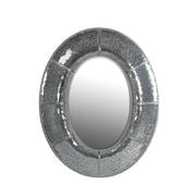 Privilege Oval Mosaic Bevel Wall Mirror