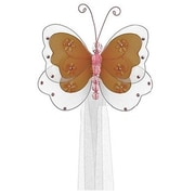 The Butterfly Grove Sasha Butterfly Curtain Tieback; Chocolate Brown