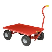 Little Giant USA 24'' x 36'' Steel Deck Wagon Truck with 10'' Pneumatic Wheels