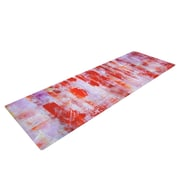 KESS InHouse Painted Cityscape by Malia Shields Yoga Mat