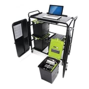 Copernicus Tech Tub™ Cart with 4 Premium Tech Tubs, Holds 24 Tablets