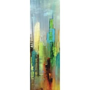 Portfolio Canvas Steel Rising Panel I by Dominick 2 Piece Painting Print on Wrapped Canvas Set
