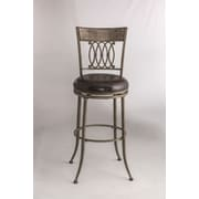 Hillsdale Abilene 27'' Swivel Bar Stool with Cushion