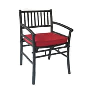 ZEW Dining Arm Chair with Cushion