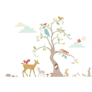 Fun To See Woodland Tree Room D cor Kit Wall Decal