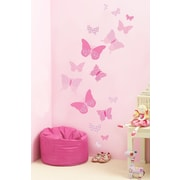Fun To See Vintage Butterflies Wall Decal