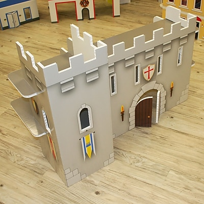 FunDeco Castle Dollhouse