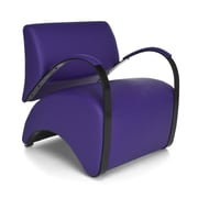 OFM Recoil Vinyl Lounge Chair, Purple (841-PU008)