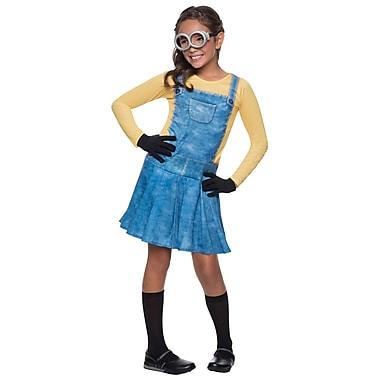Minion – Costume Minion pour enfant, fille, très petit