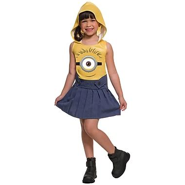 Minion Face Dress Child Costume, Girls, Extra Small