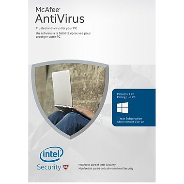 McAfee AntiVirus Software, 1 PC