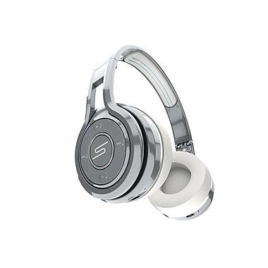 SMS Audio 50 Cent, Wireless On-Ear Headphones, Silver