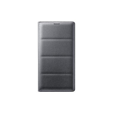Samsung – Portefeuille à rabat pour Note 4, gris/noir