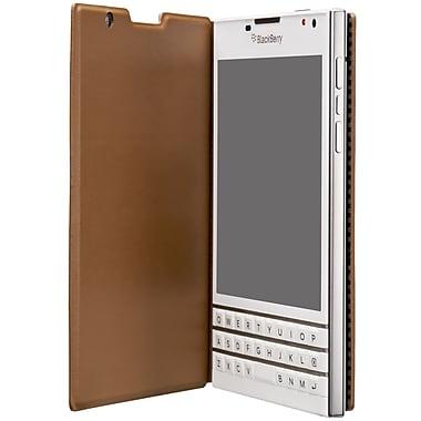 BlackBerry Leather Flip Passport, Tan