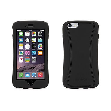 Griffin – Étui Survivor Slim pour iPhone 6 Plus, Noir/Noir