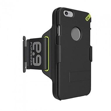 Puregear HIP Sports Armband iPhone 6, Black/Green