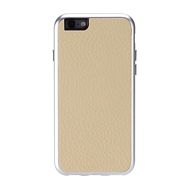 Just Mobile – Étui AluFrame en cuir pour iPhone 6, Beige