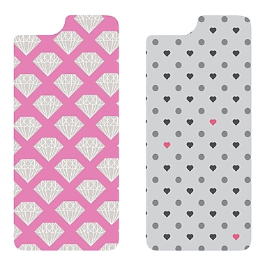 Otterbox MySymmetry iPhone 6, Diamond/Polka Heart, 2/Pack