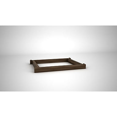Quagga Designs Qdbasew-m Support Base for qd-box™, Walnut Stain