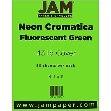 JAM Paper® 43 lb. 8 1/2