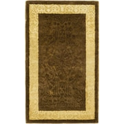 Safavieh Silk Road Chocolate/Light Gold Area Rug; 3' x 5'