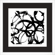 Melissa Van Hise Symbols in Black and White IV Framed Graphic Art