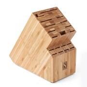 Cook N Home Cook N Home Bamboo 19 Slot Knife Storage Block