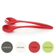 Natural Home Moboo Salad Serving Set; Cherry