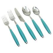 Fiesta Fiesta 5 Piece Flatware Set; Turquoise